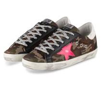 Sneaker SUPER-STAR - BRAUN/ OLIV/ GRÜN