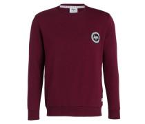 Sweatshirt CREW CREST - burgunder