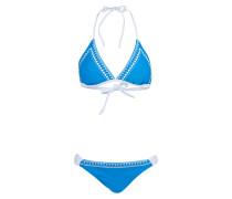 Triangel-Bikini RAINBOW - blau