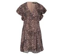 Kleid AYAR mit Volantbesatz
