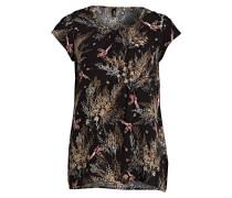 T-Shirt - schwarz/ braun