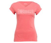 T-Shirt LOGO STAMP - koralle
