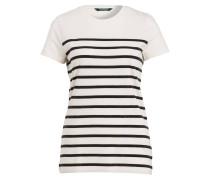 Shirt KARARA - creme/ schwarz gestreift