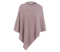 Cashmere-Poncho - taupe