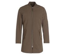 Mantel im Bomberjacken-Stil - khaki