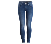 Skinny-Jeans - ultra flex blue wash