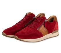 Sneaker - ROT/ CAMEL