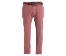 Chino STUART Regular-Slim-Fit - altrosa