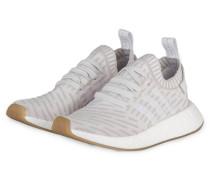 Sneaker NMD_R2 PRIMEKNIT - weiss/ pink