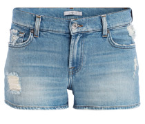 Jeans-Shorts - eclipse blue