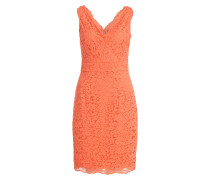 Spitzenkleid - orange