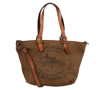Canvas-Shopper - braun