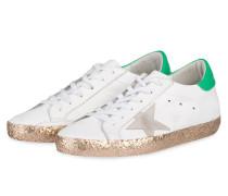 Sneaker SUPERSTAR - weiss/ grün