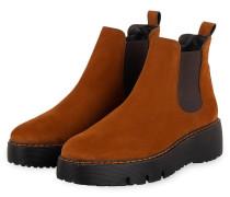 Chelsea-Boots - TERRACOTTA