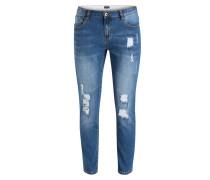 Destroyed-Jeans - blau