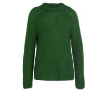 Pullover LEA mit Mohair-Anteil - grün