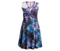 Kleid IMANI - lila/ schwarz/ blau