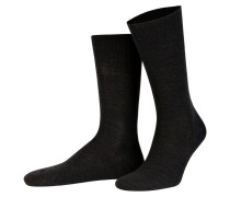 Socken AIRPORT - 3080 anthrazit