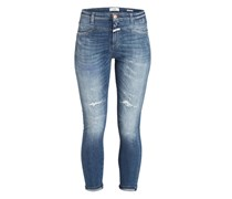 Jeans SKINNY PUSHER - blau
