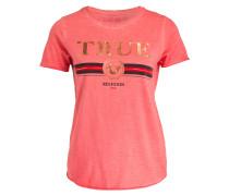 T-Shirt - orangenrot