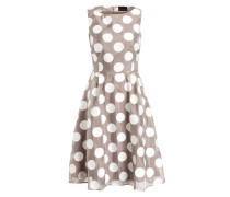 Kleid HAYLEY - mocca/ ivory
