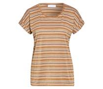 T-Shirt mit Glitzergarn