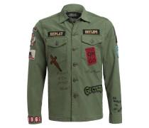 Overshirt - grün