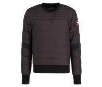 Daunensweatshirt ALBANNY - schwarz