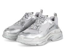 Sneaker TRIPLE S - WEISSGOLD/ GRAU