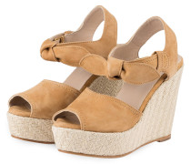 Wedges AYZA - camel
