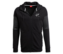 Sweatjacke AIR - schwarz/ anthrazit