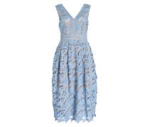 Midi-Kleid LILIAN - blau
