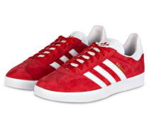 Sneaker GAZELLE - rot/ weiss