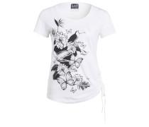 T-Shirt TRAIN - weiss/ schwarz