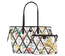 Shopper PROJECT MOTIF PRINT - weiss