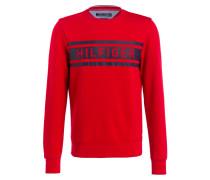 Sweatshirt DENTON - rot