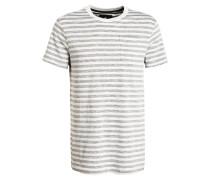 T-Shirt - hellgrau/ wollweiss