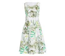 Kleid - weiss/ grün