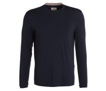 Langarmshirt - dunkelblau