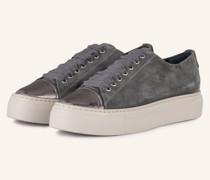 Plateau-Sneaker MOLLIE - GRAU/ SILBER