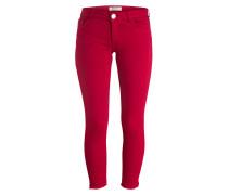 7/8-Jeans - dunkelrot
