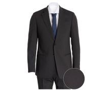 Anzug GIORIGIO Regular-Fit - schwarz