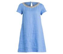 Leinenkleid - blau