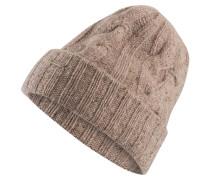 Grobstrick-Mütze FORTICA - beige