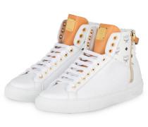 Hightop-Sneaker LOGO COMBI - weiss