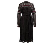 Kleid GILDA - schwarz/ silber