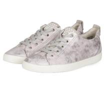 Sneaker - puder/ grau metallic