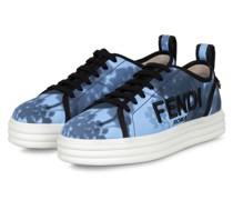 Plateau-Sneaker RISE - HELLBLAU