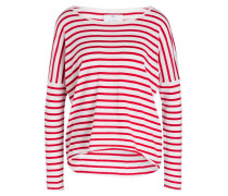 Pullover - rot/ weiss