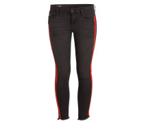 Skinny-Jeans HALLE - black